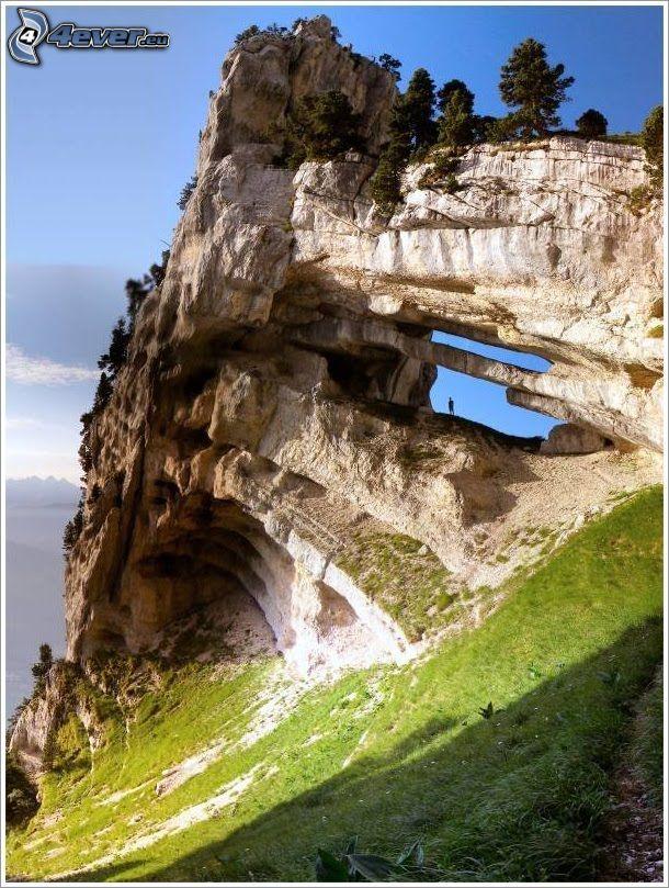 Massif de la Chartreuse, arrecife, rocas
