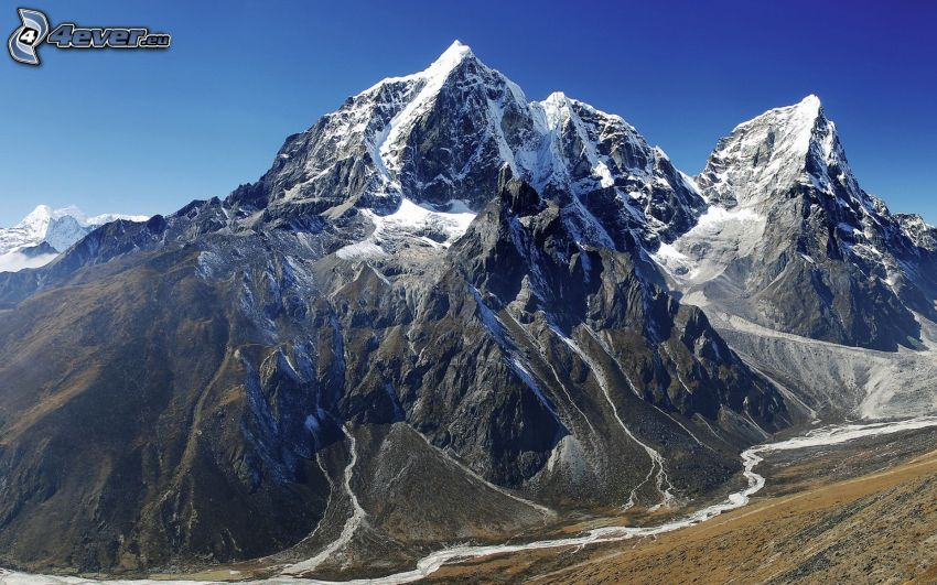 Monte Everest, montaña rocosa