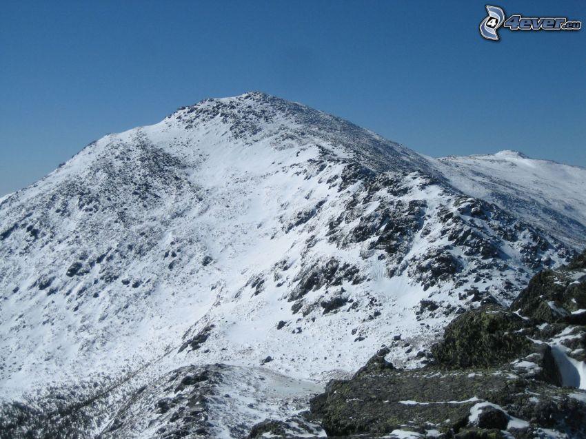 Mount Adams, nieve