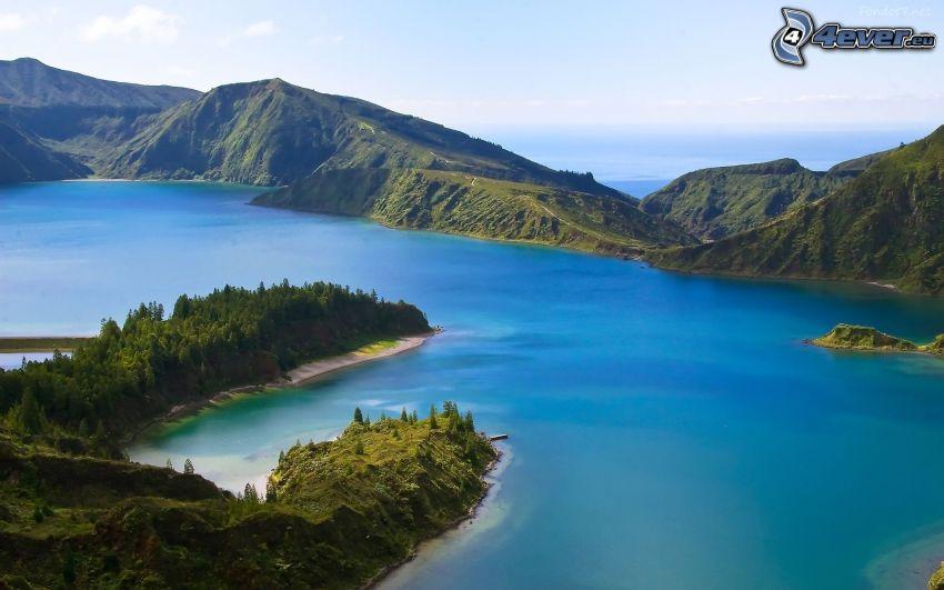 Mount Huang, lago de montaña