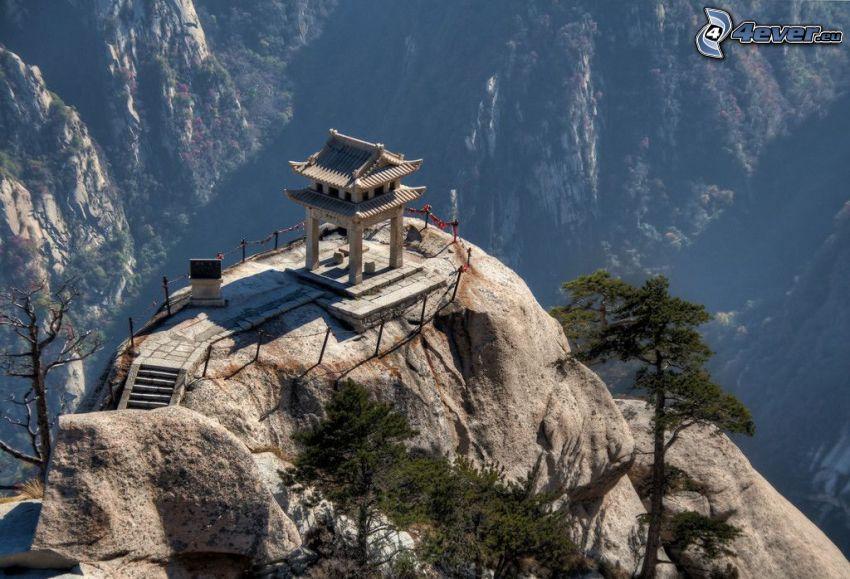 Mount Huang, montaña rocosa, vista
