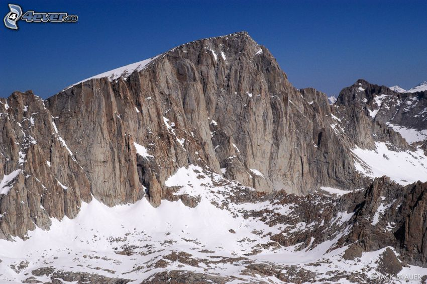 Mount Whitney, montaña rocosa