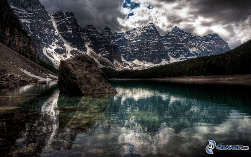 Parque Nacional Banff, Canadá, Alberta, lago