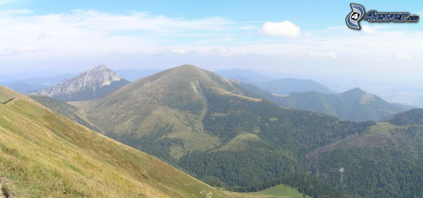 Pequeño Rozsutec, Eslovaquia, panorama