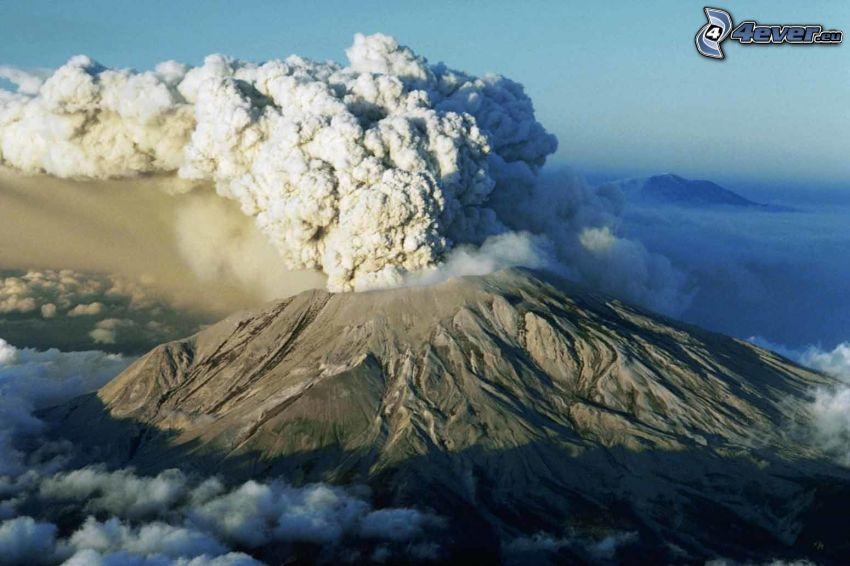 Saint Helens, volcán, nube volcánica