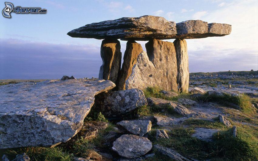 monumento de piedra, Irlanda