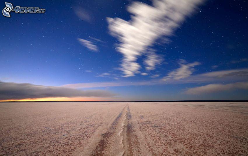 desierto, nube