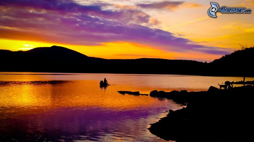 lago, horizonte