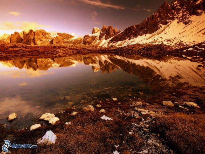 lago, sierra