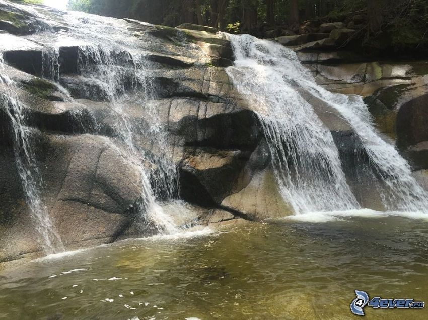 Mumlavský cascada