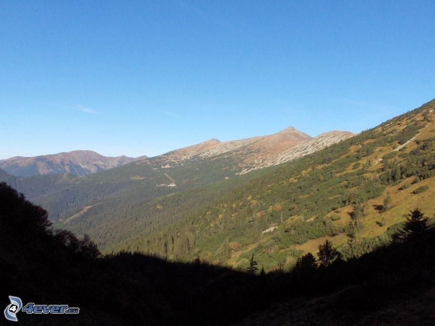 naturaleza, montañas