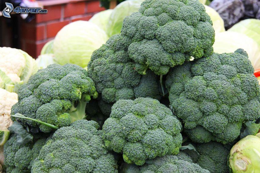 brócoli, col