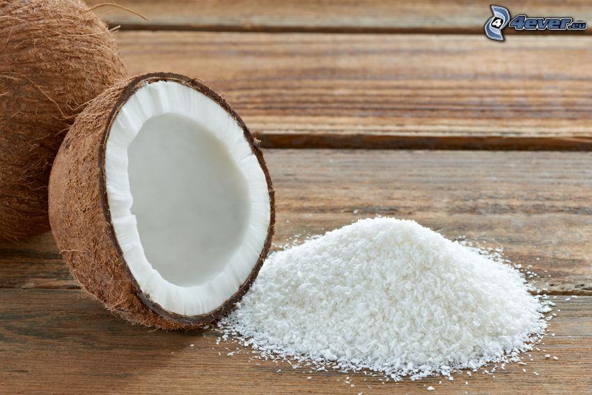 el nuez de coco, cocos