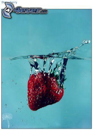 fresa, agua