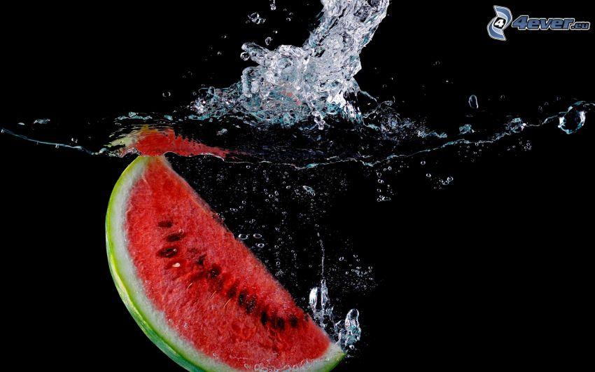 melón, splash
