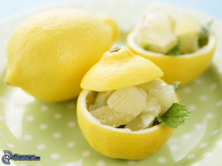 pomelo, limón