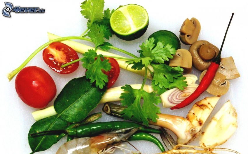 verduras, lima
