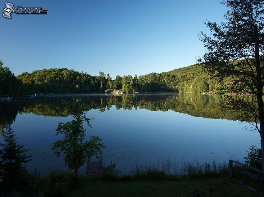 Quebec, lago
