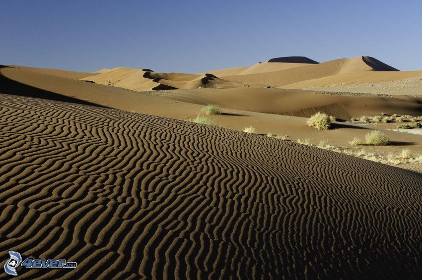 Sossusvlei, dunas de arena