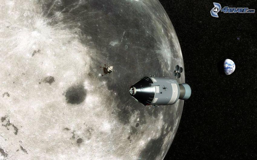 astronave, planeta, Planeta Tierra