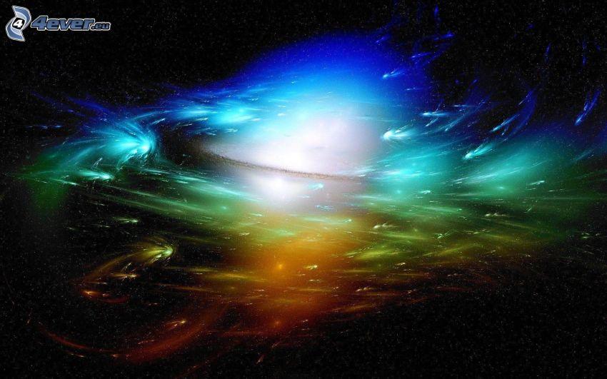 Color de Nebula, estrellas