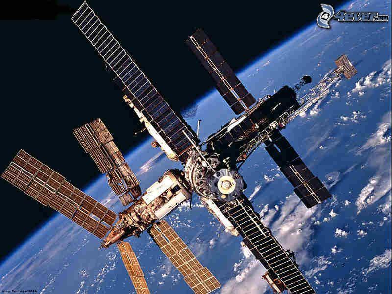 Estación Espacial Internacional ISS, universo, Tierra