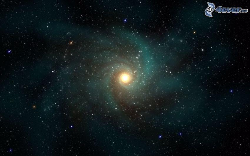 galaxia, estrellas