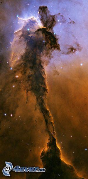 Nebulosa, estrellas, universo