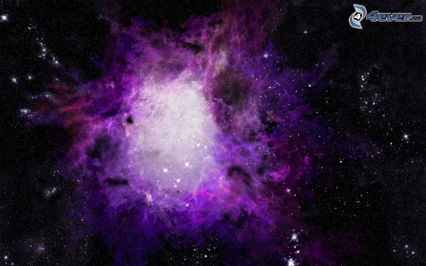 Nebulosa, estrellas
