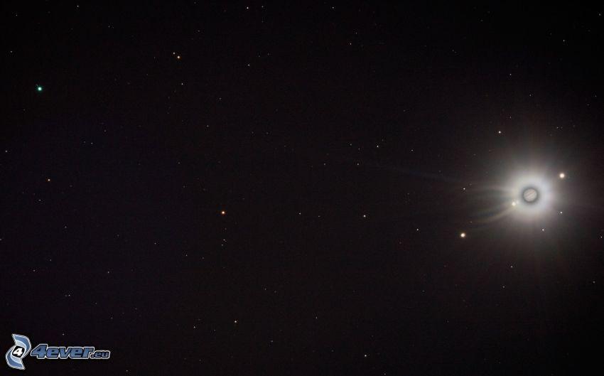 planeta, estrellas