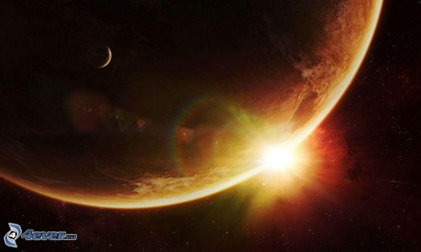 planeta, sol