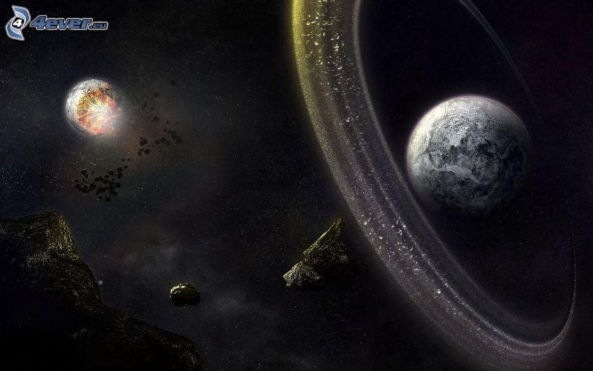 Planeta Tierra, asteroides