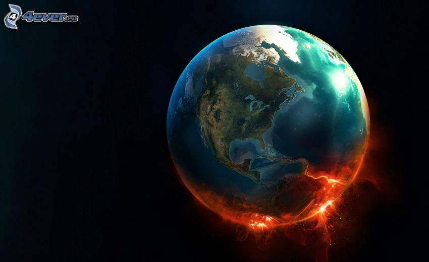 Planeta Tierra, chispazo