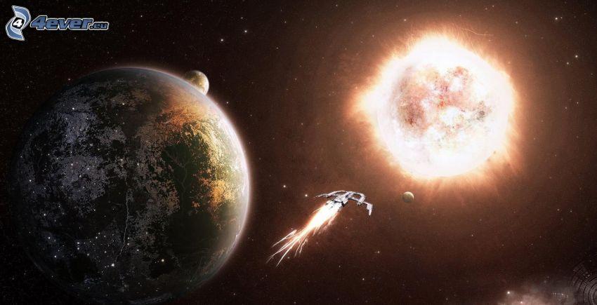Planeta Tierra, sol