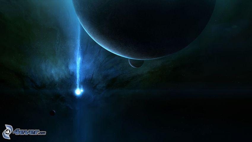 planetas, estrella