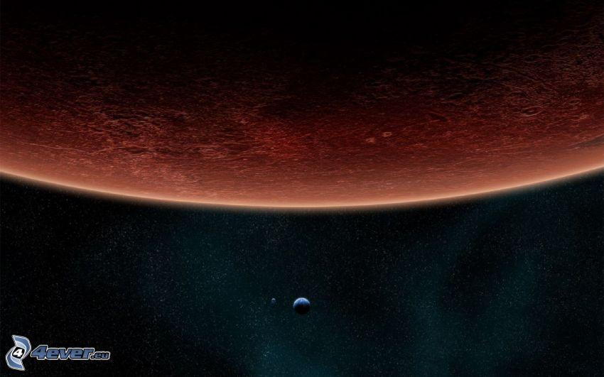 planetas, estrellas