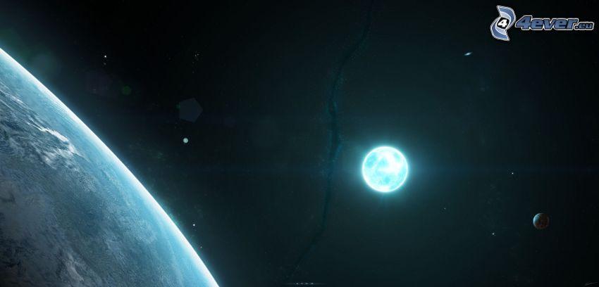 sol, Tierra, mes