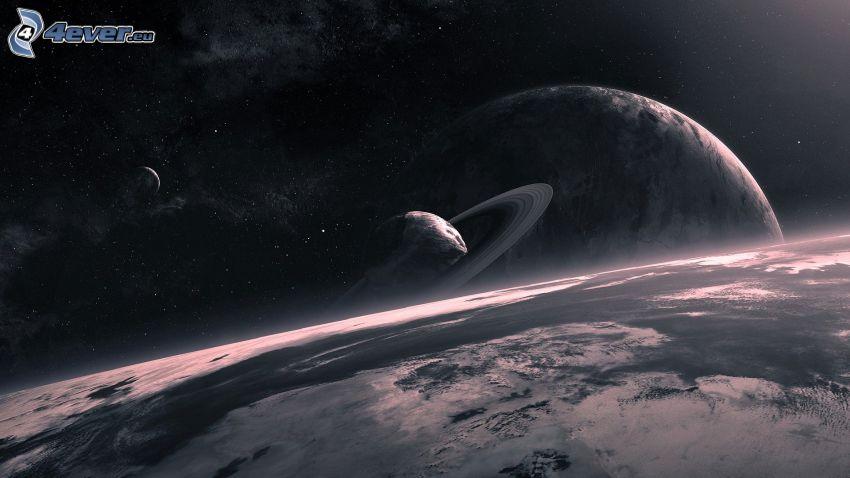 Tierra, planetas