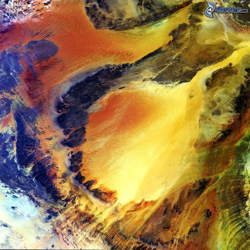 universo, imagen del satélite