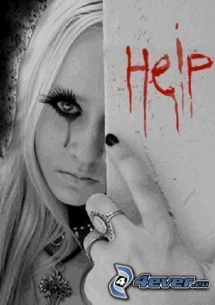 ayuda, sangre