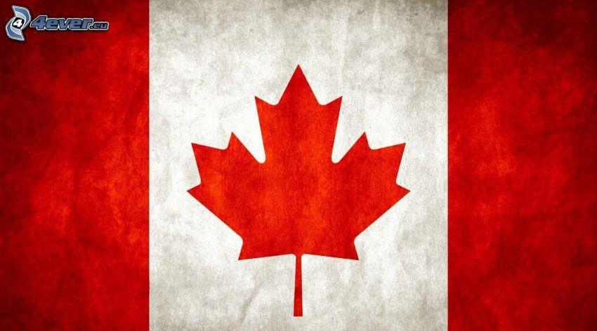 Bandera canadiense