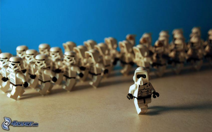 caracteres, Lego