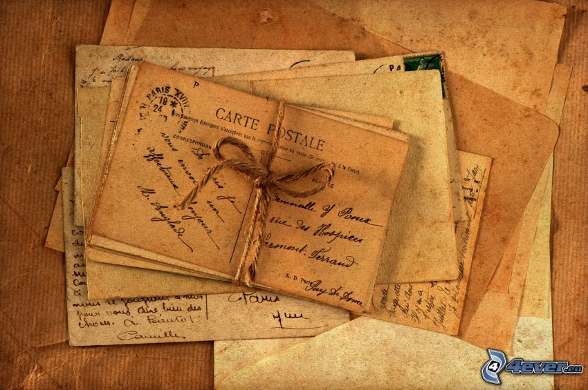 correo, cartas