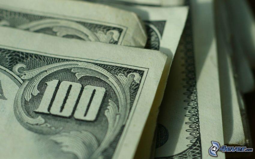 dólares, dinero