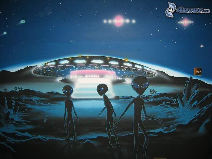 extraterrestres, UFO, disco volador
