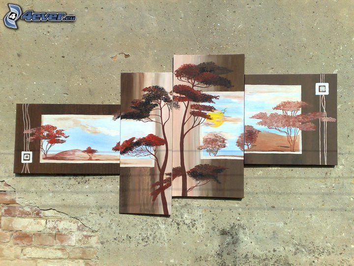 imágenes, árboles