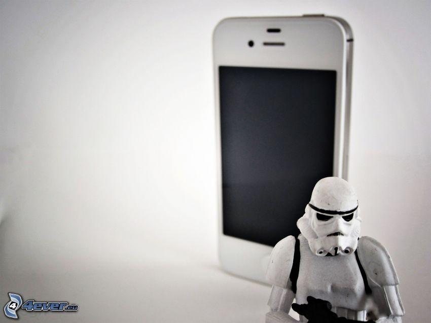 iPhone, figurita, Star Wars