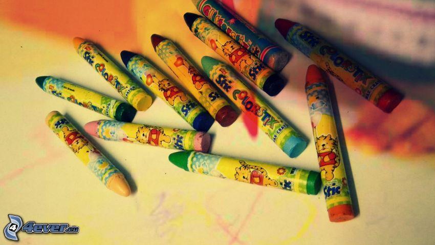 lápices de color