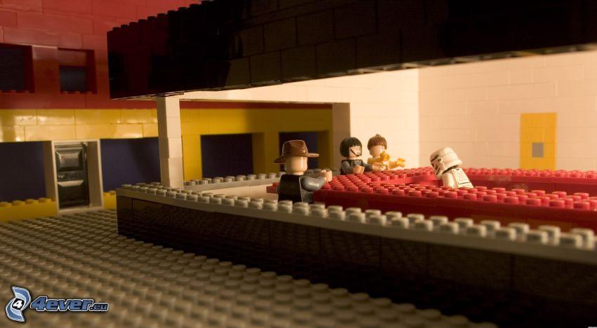 Lego, caracteres, pub