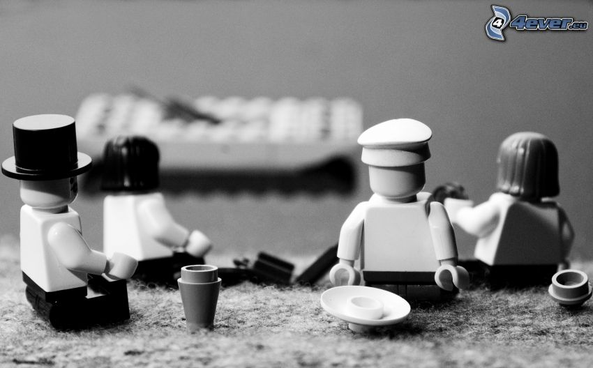 Lego, caracteres